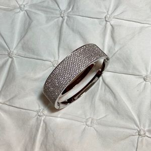 Swarovski Studded Bangle Bracelet